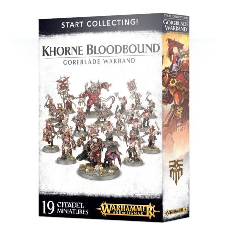 Start Collecting! Khorne Bloodbound: Goreblade Warband