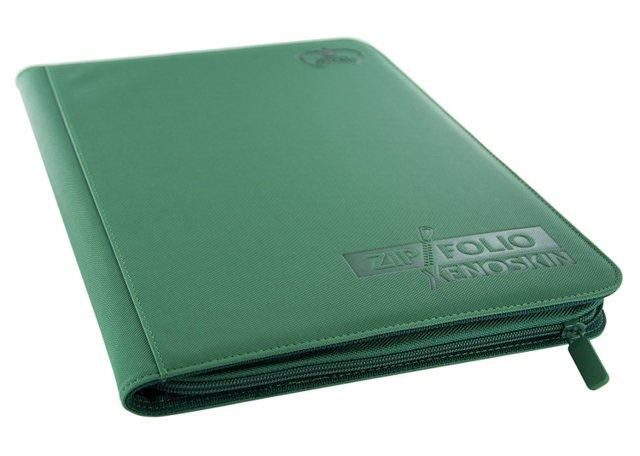 Ultimate Guard Zipfolio XenoSkin - 9 Pocket -  Green