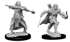 Pathfinder Battles Unpainted Minis - Male Half-Elf Ranger