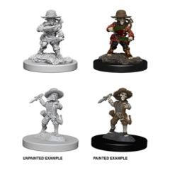 Pathfinder Battles Unpainted Minis - Male Halfling Rogue