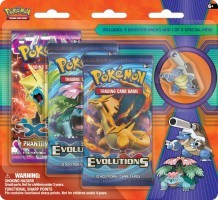 Mega Blastoise - Collector's Pin 3-Pack Blister