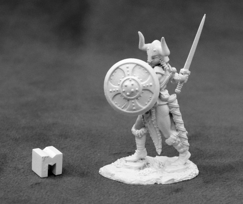 Alena Frostblade, Barbarian