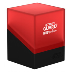 Ultimate Guard - Deck Case 100+ Boulder - 2020 Exclusive Black/Red