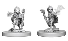 Pathfinder Battles Unpainted Minis - Gnome Male Druid