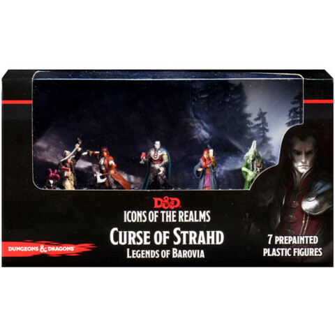 Icons of the Realms Premium Miniatures - Curse of Strahd: Legends of Barovia Box Set