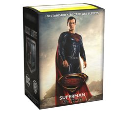 Dragon Shield Art Matte Sleeves - Justice League: Superman - 100ct