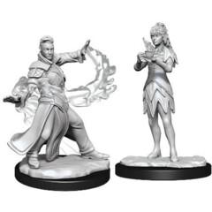 Magic the Gathering Unpainted Miniatures: W03 Killian & Dina