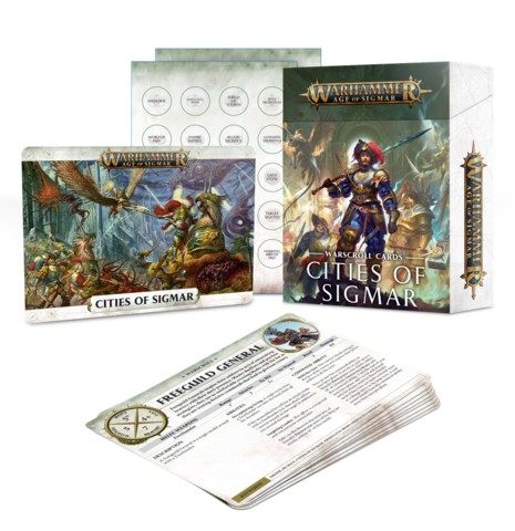 Warscroll Cards: Cities of Sigmar