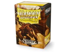 Dragon Shield Sleeves: Classic Copper (Box Of 100)