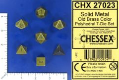 CHX 27023 - Solid Metal Old Brass Color