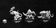 Dungeon Dwellers: Wererats (3)