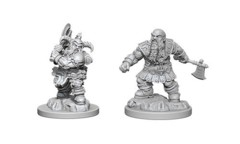 Nolzur's Marvelous Unpainted Miniatures - Dwarf Barbarian (Male)
