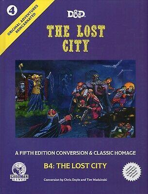 The Lost City #4- 5E-Conversion & Classic Homage