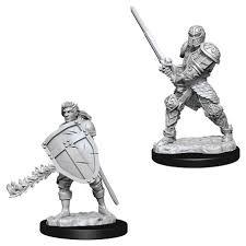 Nolzur's Marvelous Unpainted Miniatures - Male Human Fighter