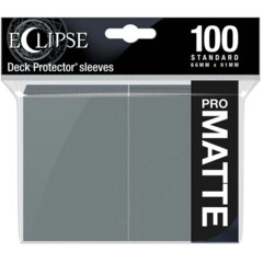 Ultra Pro Eclipse Matte Sleeves - Grey - 100ct
