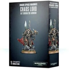 Chaos Lord / Sorcerer Lord in Terminator Armour
