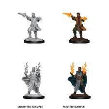 Nolzur's Marvelous Unpainted Miniatures: W12 Male Human Sorcerer