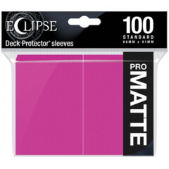 Ultra Pro Eclipse Matte Sleeves - Hot Pink - 100ct