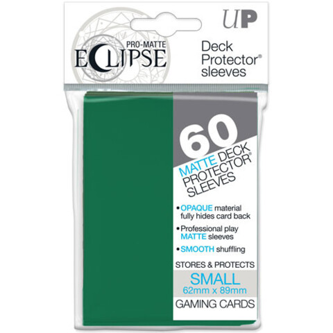 Ultra Pro Eclipse Small Green Matte Sleeves 60Ct