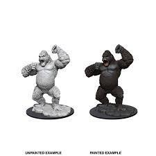 Nolzur's Marvelous Unpainted Miniatures: W12 Giant Ape