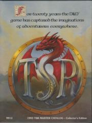 1993 TSR Master Catalog-Collectors Edition