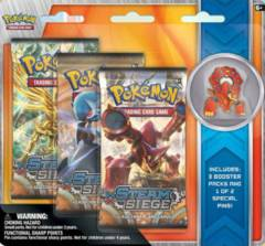 XY - Volcanion and Shiny Mega Gardevoir 3-Pack Blister - Volcanion