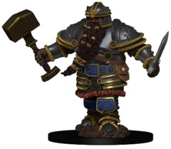 D&D Icons of the Realms Premium Miniatures: Dwarf Fighter