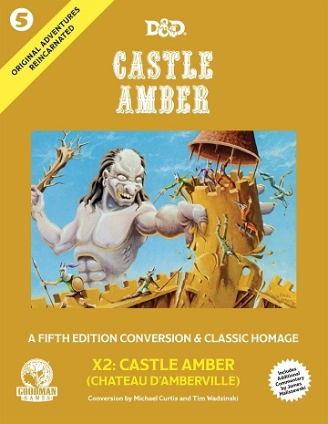 Dungeons & Dragons (5th Ed.): Original Adventures Reincarnated #5: Castle Amber