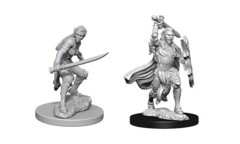 D&D Unpainted Minis - Elf Female Fighter
