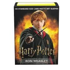 Dragon Shield Art Matte Sleeves: Wizarding World - Ron Weasley - 100ct