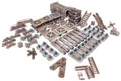 TinkerTurf Sci-Fi: Industrial Starter Set - Abandoned Theme