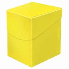 Ultra Pro Eclipse Deck Box - Lemon Yellow