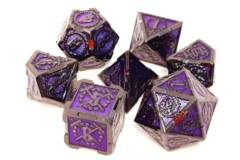 Knights of the Round Table - Black w/ Amethyst