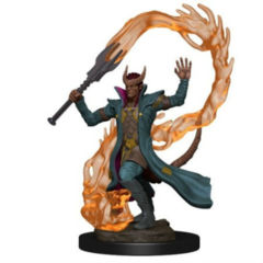 Icons of the Realms Premium Miniatures - Tiefling Sorceror (Male)