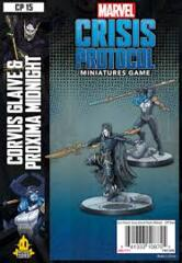 Marvel: Crisis Protocol - Corvus Glaive and Proxima Midnight Character Pack