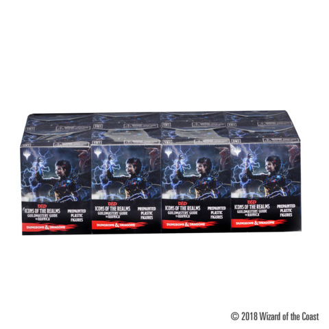 D&D Icons Of The Realms Miniatures #10 - Guide To Ravnica (8Ct) Booster Brick