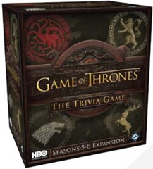 Game of Thrones (HBO EDITION): The Trivia Game - Seasons 5-8 Expansion