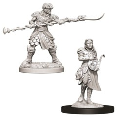 Nolzurs Marvelous Unpainted Miniatures - Yuan-Ti Pureblood Adventurers