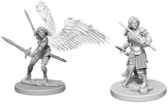 Nolzur's Marvelous Unpainted Miniatures - Aasimar Paladin (Female)