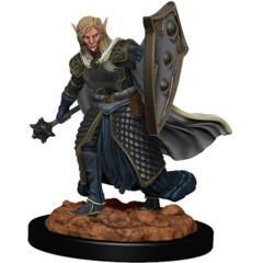D&D Icons of the Realms Premium Miniatures: Elf Cleric