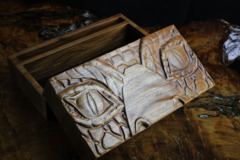 Skirmish Box: Walnut - Dragon Face