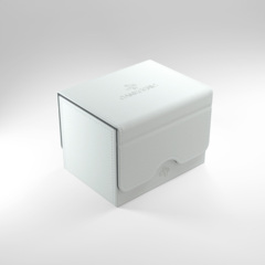 Gamegenic - Sidekick 100+ Convertible Deck Box - White
