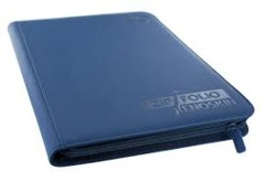 Ultimate Guard Zipfolio XenoSkin - 9 Pocket -  Dark Blue