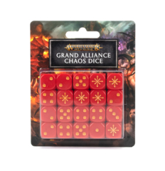 AOS: GRAND ALLIANCE CHAOS DICE SET