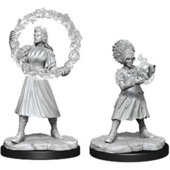 Magic the Gathering Unpainted Miniatures: W03 Rootha & Zimone