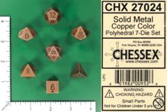 CHX 27024 - Solid Metal Copper Color