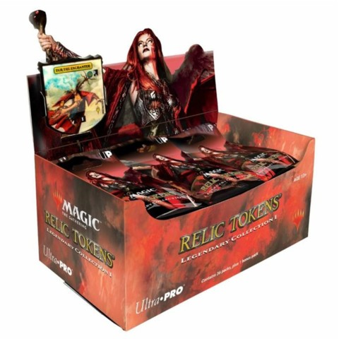 Ultra Pro Magic The Gathering: Relic Tokens - Legendary Collection 1 Display