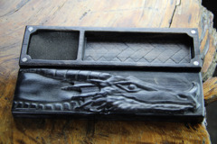 Dragon Sheaths: Flame Birch Abyssal Black - Dragon Head