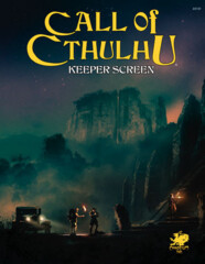 Call of Cthulhu 7E: Keeper Screen Pack