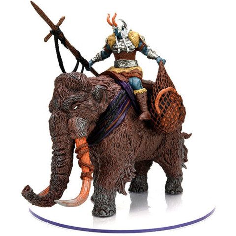 Dungeons & Dragons Fantasy Miniatures: Icons of the Realms Set 19 Snowbound Frost Giant and Mammoth